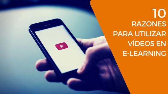 Vídeos en e-learning