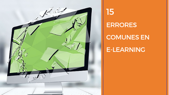 15 errores comunes en e-learning
