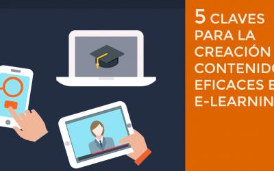 5 claves para la creación de contenidos eficaces en e-learning