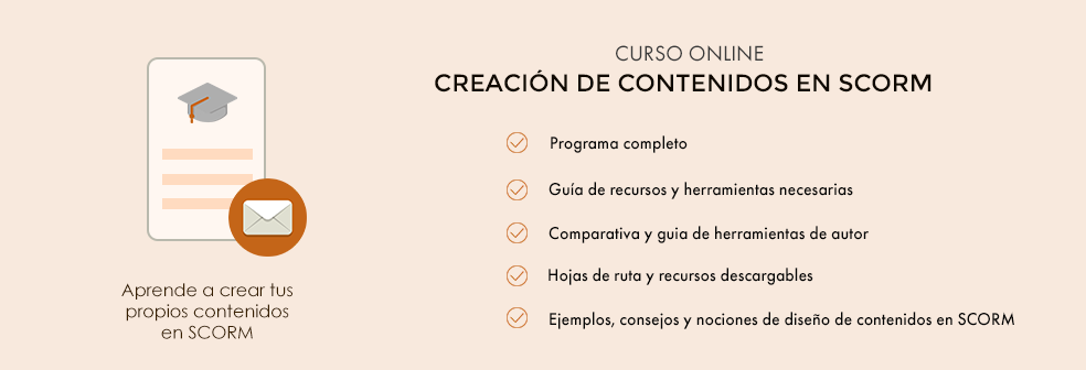 curso creación de contenidos en SCORM