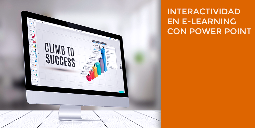 Interactividad en e-learning con Power point