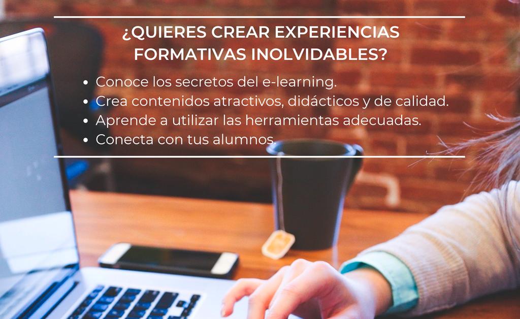 ¿Quieres crear experiencias formativas inolvidables?
